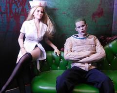 The Joker (Cremdon) Tags: 16scale actionfigures jaredleto thejoker suicidesquad fireredrose