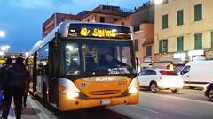 AMT 8747 (Lu_Pi) Tags: amt genova autobus bus fieradisantagata scania omnicity amtgenovalinea48 cimiterostaglieno