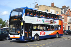 Stagecoach East 10881 YX67VDV (Will Swain) Tags: seen peterborough 4th august 2018 bus buses transport travel uk britain vehicle vehicles county country england english south east stagecoach 10881 yx67vdv