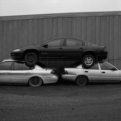 LaCrosse, Washington (austin granger) Tags: lacrosse washington palouse cars pyramid surreal street square film gf670