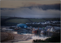 Low tide Padstow (Stephen Braund) Tags: padstow sea sand hdr sundown estuary