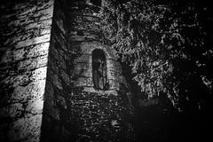 Shattered (LUMEN SCRIPT) Tags: castle architecture monochrome wall window broken abandonment ruins