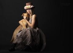 (Cristina Laugero) Tags: vintage portrait dog elegance