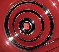 1931 Duesenberg J-345 Disappearing Top Convertible Coupe Spare Tire (ksblack99) Tags: duesenberg 1931 coupe disappearingtop convertible automobile classiccar gilmorecarmuseum hickorycorners michigan j345 sparetire