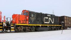 CN 7027, Stroebe, Fox Crossing, 9 Mar 19 (kkaf) Tags: a446 stroebe foxcrossing gp9rm