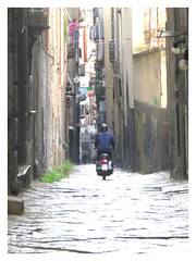 Shortcuts (The Stig 2009) Tags: naples italy scooter motorbike cobbles backstreet alley thestig2009 thestig stig 2009 2019 tony o tonyo canon