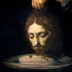 Retrato de San Juán Bautista - Portrait of Saint John the Baptist (COLINA PACO) Tags: portrait retrato ritratto photoshop photomanipulation fotomanipulación fotomontaje franciscocolina art arte collage