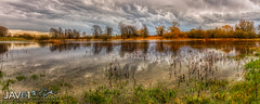 Silence before the storm ... -1031 (George Vittman) Tags: water lake landscape marsh panorama pond reflection sun warm nikonpassion naturephotography jav61photography jav61