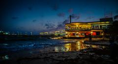 Cozumel Ferry terminal at Night  - Playa del Carmen Mexico (mbell1975) Tags: playadelcarmen quintanaroo mexico mx cozumel ferry terminal night playa del carmen mex evening yucatán yucatan mexican beach water sand ocean sea meer caribbean shore port dock