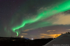 Aurora Borealis (Dimitris_S.) Tags: northerlights auroraborealis norway explore