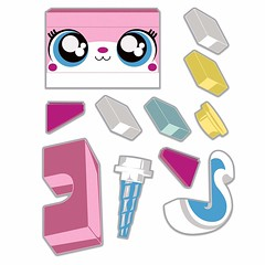 Staticker Unikitty - The Decals