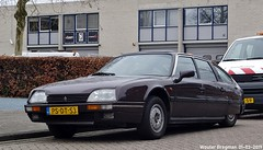 Citroën CX 25 TRD Turbo 2 1988 (XBXG) Tags: psdt53 citroën cx 25 trd turbo 2 1988 citroëncx td diesel cassis nacré veemarkt amsterdam nederland holland netherlands paysbas youngtimer old classic french car auto automobile voiture ancienne française france vehicle outdoor