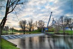 Olympiapark in München (Janos Kertesz) Tags: olympiade olympiapark bayern bavaria münchen munich