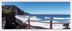 La Fajana, La Palma, 24x56 analog (Dierk Topp) Tags: analog atlantic canaryislands film horizon horizon202 islascanarias lapalma pano panorama wasser waves kodakportra160