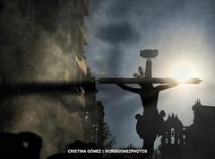 Via Crucis Cristo de la Convención (Cristina Gómez García) Tags: semanasanta sevilla crisgomezphotos cristocrucificado cristodelaconvencion cuaresma composicion contraluz