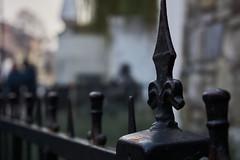 Fence (Michal Zawolek) Tags: kraków krakow krakov krakau cracow cracovia polska poland polen polonia fence spear needle black stone