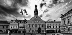Vysoke Myto (wernerfunk) Tags: tschechien architektur schwarzweiss blackwhite