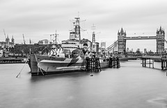 There is a day like this 😬 (PokemonaDeChroma) Tags: longexposure blur le london hmsbelfast whoteaseswho