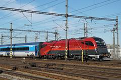 ÖBB 1216 229 - Prague (Neil Pulling) Tags: eisenbahn prague praha prag railway čd train bahn öbb1216229 öbb 1216229 taurus railjet