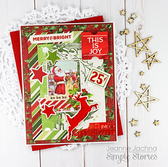 This is Joy (akeptlife) Tags: simplevintagechristmas card cardmaking papercrafting christmas simplestories patternpaper