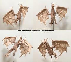 Alduin, The World Eater - Satoshi Kamiya (shooroop83) Tags: origami satoshikamiya dragon alduin