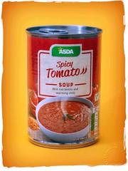 Soup 2 (zweiblumen) Tags: soup can tin asda spicytomato vegetarian canoneos50d canonspeedlite430exii canonef50mmf14usm polariser yongnuorf603cii zweiblumen