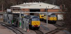 Leicester LIP  -  3 (Peter Leigh50) Tags: leicester mpd lip ukrail diesel locomotive fujifilm fuji xt2 railway railroad rail train track