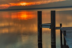 sun on the lake (focale 74) Tags: