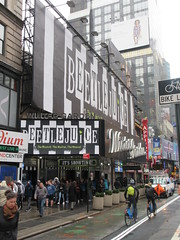 Beetlejuice The Musical Winter Garden Theater Marquee 4367 (Brechtbug) Tags: beetlejuice the musical winter garden theater marquee display 2019 nyc broadway 7th ave 51st street ben cooper halco collegeville monster creature graveyard ghoul dead guy moss hair green stripes fashion mutants villains tim burton film movie 1988 80s 1980s figure hell purgatory beatle beetle juice ghost with most michael keaton possession exorcist betelgeuse exorcism haunt