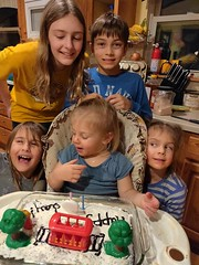 Antony's Second Birthday (Stabbur's Master) Tags: birthday birthdayparty birthdaycake kidsbirthdayparty kidsbirthday childsbirthdayparty secondbirthday