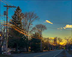 Late Day Light   T2 (Timothy Valentine) Tags: telegraphtuesday large 2019 0319 sky pole lines eastbridgewater massachusetts unitedstatesofamerica us
