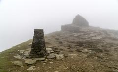 Coniston Old Man (l4ts) Tags: landscape cumbria lakedistrict southernfells conistonfells lowcloud conistonoldman summit cairn trigpoint