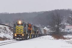 B&P RIBT @ Punxsutawney, PA (Dan A. Davis) Tags: buffalopittsburgh bp bprr geneseewyoming rikeryard punxsutawney northpointe pa pennsylvania freighttrain railroad train locomotive ltex sd50 sd402 sd40t2 ribt