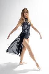 dancer 14 (Mark Rigler -) Tags: pretty cute sweet young fun girl woman sensuality ethereal femininity girlishness womanliness dancer ballet ballerina studio white background black tutu red net