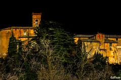 E fu subito sera (danilocolombo69) Tags: nikonclubit danilocolombo danilocolombo69 chianni toscana notte borgo inverno bosco etruschi