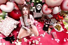 ♥♥♥ (ღ ღ[[J E SSIE ]] ღ ღ) Tags: limerence caboodle halfdeer secondlife cute kawaii cupidinc maitreya catwa secondlifeblog avi av secondlifephoto girl pose bento photosecondlife prtty female tentacio sl balloon balloons