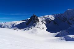 Връх Харамията, Рила (sevdelinkata) Tags: winter snow peak sky blue mountain rila bulgaria