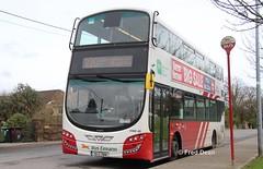 Bus Eireann VWD40 (151C7998). (Fred Dean Jnr) Tags: buseireannroute220 cork volvo buseireann vwd40 151c7998 carrigaline ferneyroadcork february2019 b5tl wright wrightbus eclipse gemini3
