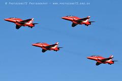 9786 Gypo takeoff (photozone72) Tags: raf rafat redarrows reds redwhiteblue aviation aircraft scampton lincolnshire canon canon7dmk2 canon100400f4556lii 7dmk2 gypo