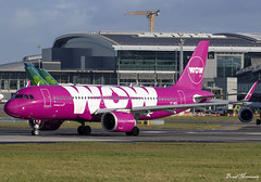 WOW Air A320-200N TF-NEO (birrlad) Tags: dublin dub international aircraft airport ireland airplane airplanes aviation airline airliner airlines airways taxi taxiway takeoff departing departure runway airbus a320 a20n a320200n a320251n neo tfneo wow air