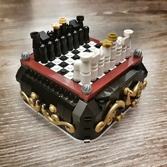 AFOL Designer Program Chess (Corvus Auriac MOCs) Tags: lego moc afol designer program bricks chess king queen design art pieces bricklink