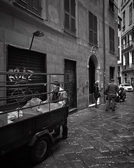 """Hands"" (giannipaoloziliani) Tags: hands walls dark street darkness capturestreets suburbs city citylife italia italy liguria lightandshadow urbanstreet urbanexplorer downtown streetlife flickr genova genoa biancoenero people work streetphotography blackandwhite nikon nikoncamera nikonphotography"