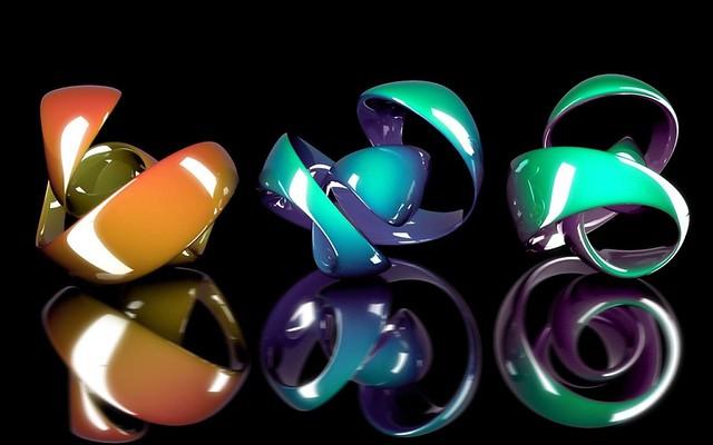 Обои фигурка, форма, сплав, разноцветный картинки на рабочий стол, фото скачать бесплатно