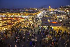 People (Pawel Wietecha) Tags: people marrakech morocco africa market marrakesh color red yellow orange blue evening lights sky shopping travel trip journey skyline cityscape landscape souq jemaaelfna