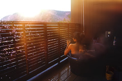 Spring (Yuri Figuenick) Tags: bath hotbath back woman myself heaven relaxing restore mountain nature hakone hotspring onsen healthy japanese japan portrait sunlight sunrise sunset morning canon eos 5d mark3 travel trip drink rest peace sakura flower blossom bloom cherryblossom
