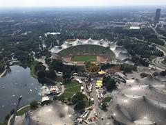München/Munich, Germany, 2018 (From Manhattan to Havana) Tags: münchen munich bavaria bayern deutschland germany saksa olympiaturm olympictower olympiapark park olympiastadion olympic stadium