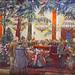 """""""Devant le cercueil du chef"""" d'Isaac Brodsky (Grand Palais, Paris)"""