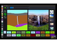 Kinh ngạc Nvidia AI giúp biến đường nguệch ngoạc thành tranh đẹp như mơ (quynhchichau) Tags: digital marketing