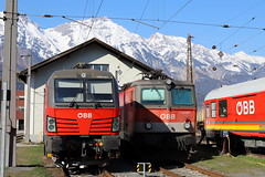 ÖBB 1293 021-2 und 1144 032, Innsbruck Traktion (michaelgoll777) Tags: öbb vectron 1293 1144