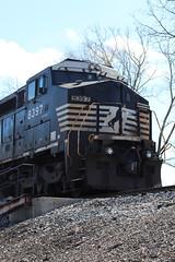 Ex-con on M337 (DonnieMarcos) Tags: freighttrain freighttrains freight trains train trainspotting railfan railfanning railroad railway rails rail railroads track traintrack traintracks ge generalelectric cn cnrr cnr canadiannational cnfreeportsub m337 cnm337 cnm33791 m33791 berwyn berwynil chicago chicagorails